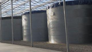 Tartályok víz tárolására