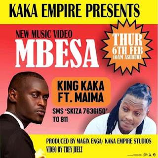 Audio  King Kaka Ft Maima - Mbesa   Download Mp3