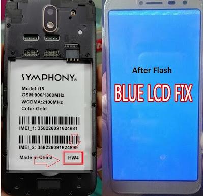 Symphony i15 SP7731E Android 8.1 HW4 Flash File 100% Tested