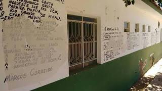 DESTRUIÇÃO DE PAINEL LITERÁRIO EM SERTÂNIA É REPUDIADO PELO COCAR