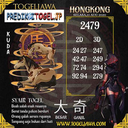 Prediksi Togel Jawa Hongkong HK Selasa 11 Agustus 2020
