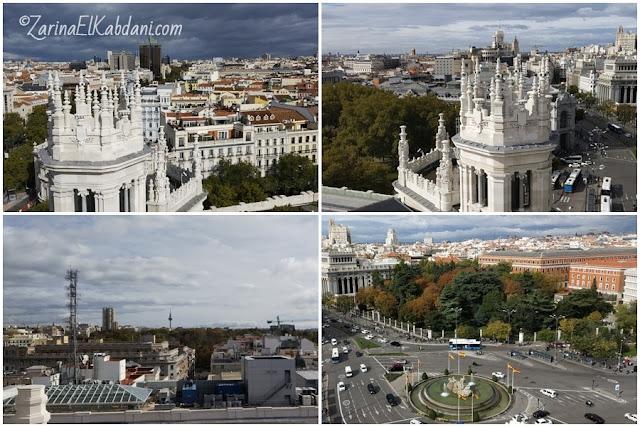 Rooftop view Madrid dari CentroCentro
