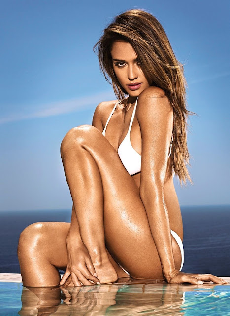 Jessica Alba 01 - Jessica Alba Hot Bikini Images-60 Most Sexiest HD Photos of Fantastic Four fame Seduces Us Atmost
