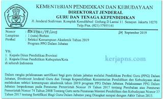 Syarat Peserta dan Jadwal Pretest  (Seleksi Kemampuan Akademik) PPGJ