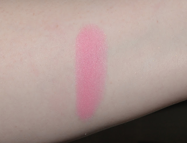 swatch of dainty doll my girl blush for pale skin