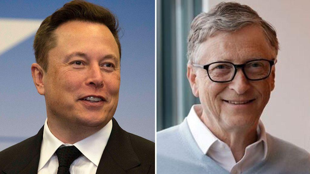 Elon Musk y Bill Gates