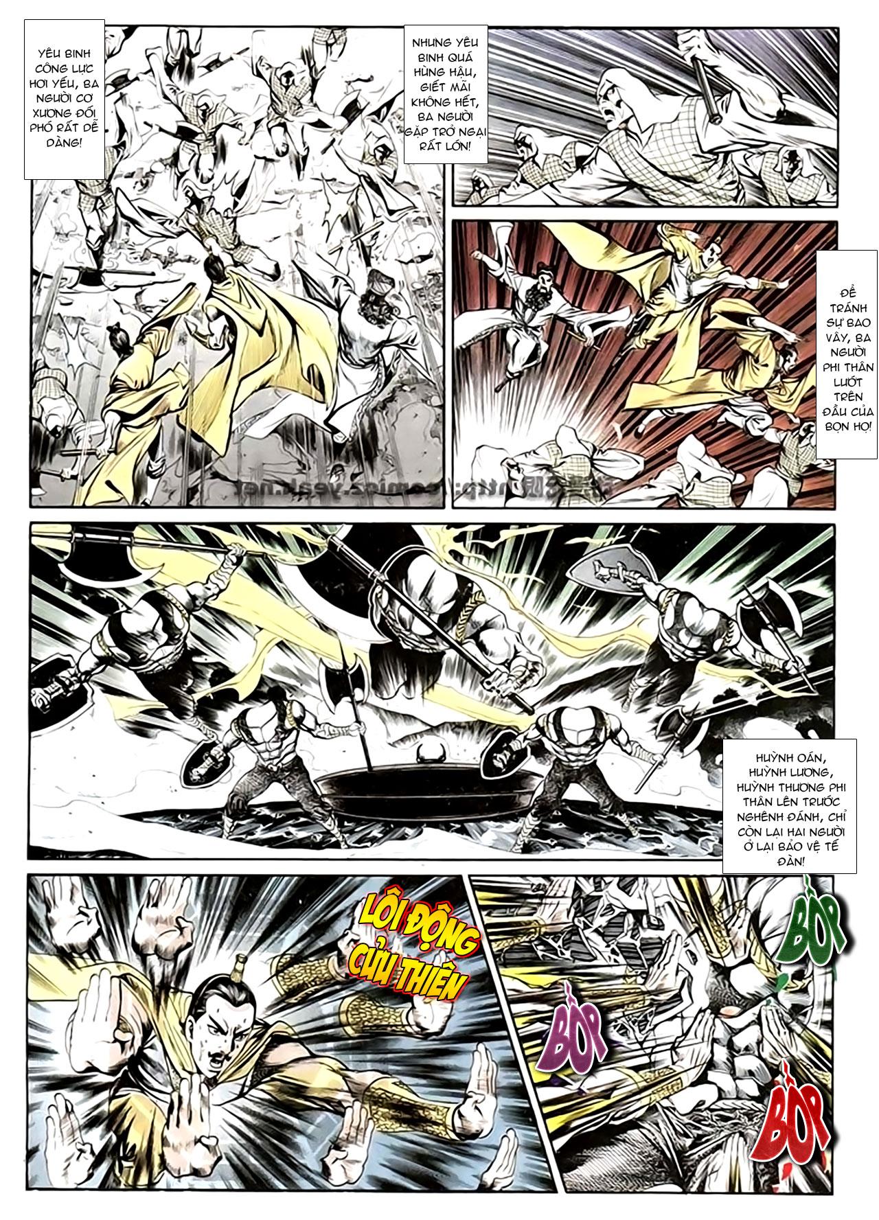 Cơ Phát Khai Chu Bản chapter 135 trang 6