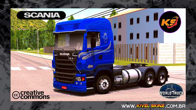 SCANIA R620 - SILVER LINE EDITION BLUE