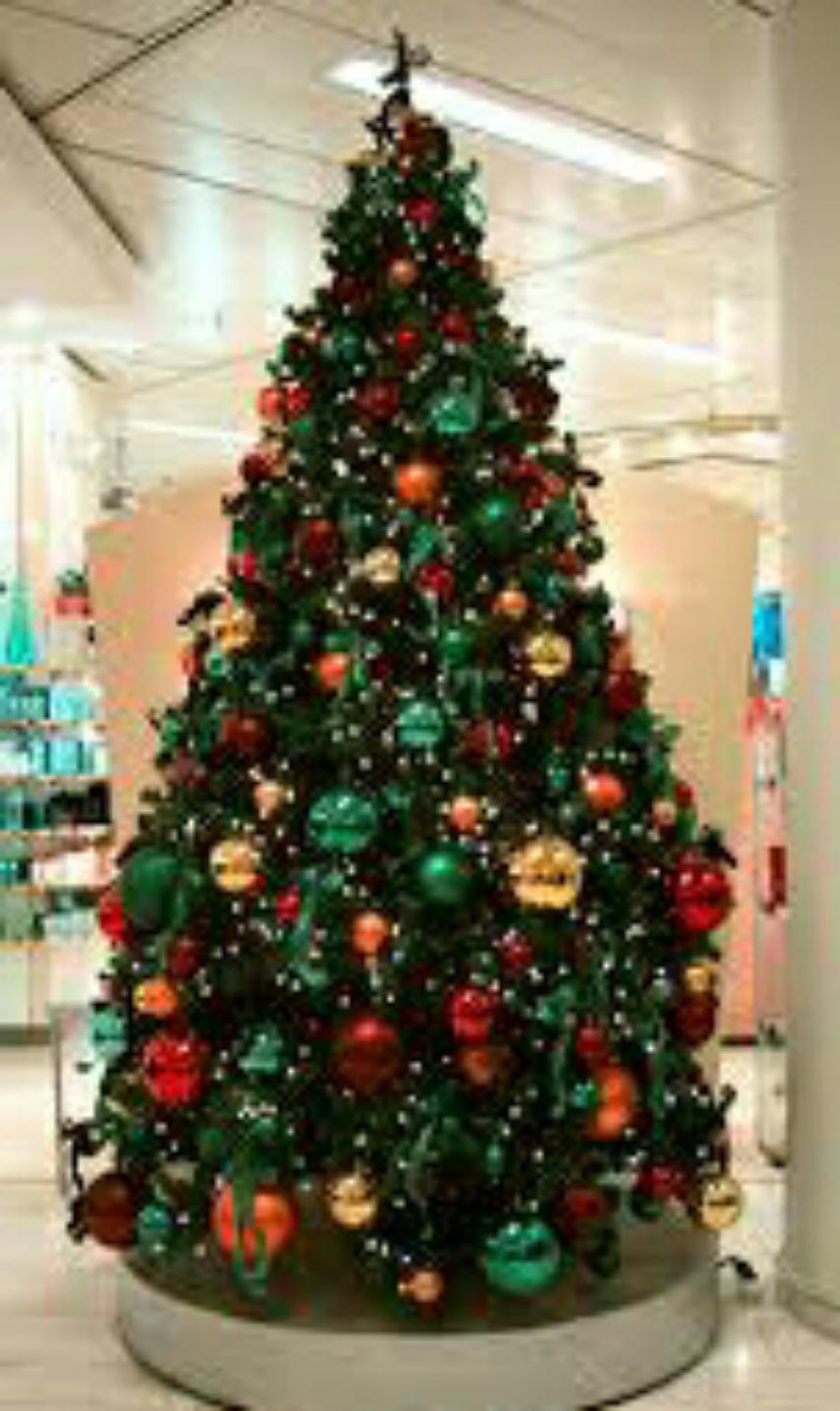 15 Contoh gambar dekorasi pohon natal tercantik dan unik ...