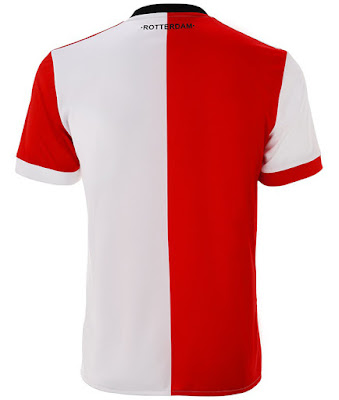 Feyenoord 17-18 Adidas Home Kit