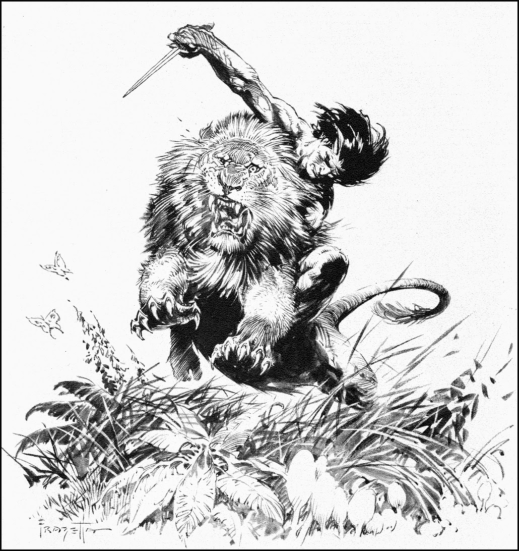 Cap N S Comics More Canaveral Press By Frank Frazetta