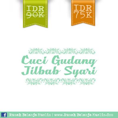 Jilbab Syari Super Murah - Cuci Gudang