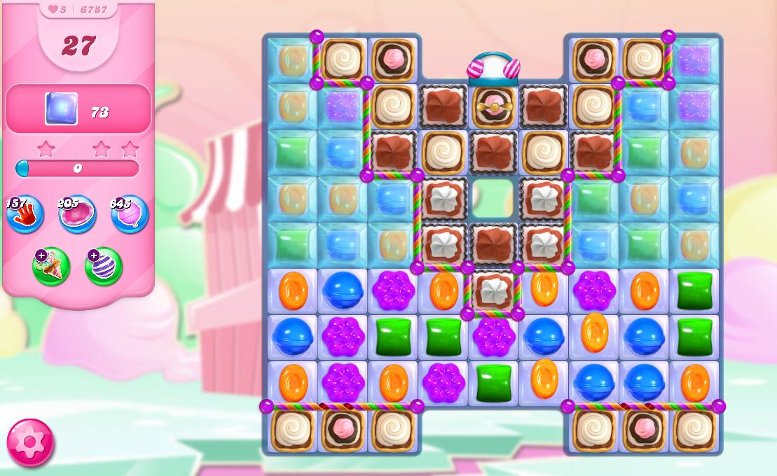 Candy Crush Saga level 6787