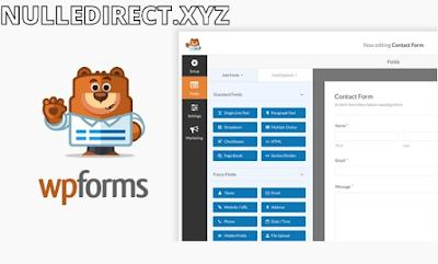 WPForms Plugin Pro 1.6.5.1 Nulled – Drag & Drop WordPress Form Builder