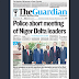NAIJA NEWSPAPERS: TODAY'S THE GUARDIAN NEWSPAPER HEADLINES [27 OCTOBER, 2017].