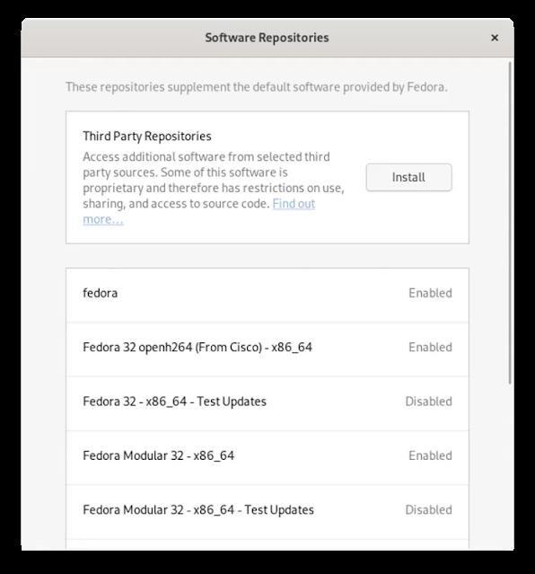 كيفية إضافة مستودعات تابعة لجهات خارجية في Fedora والوصول إلى عدد ضخم من البرامج الإضافية