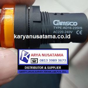 Jual Indicator Lamp LED Camsco Type AD16-22D/S di Bogor