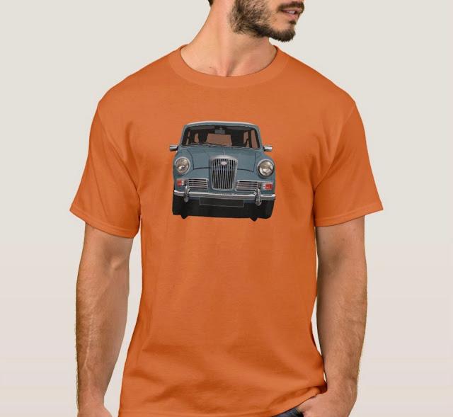 Wolseley Hornet car t-shirt
