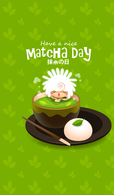 Fluffy & Tilly (Matcha Day)