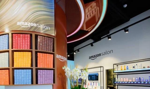 Amazon opens hair salon in London