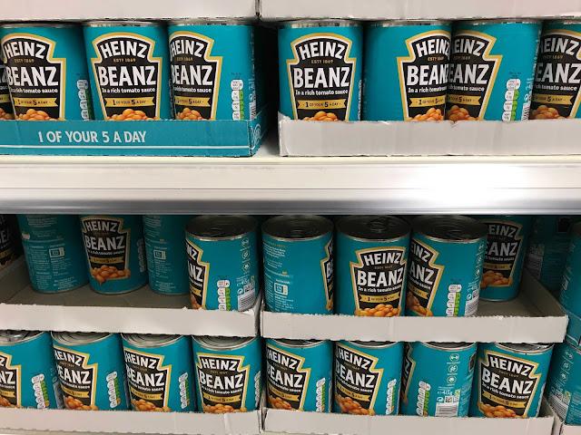 イギリス料理 Heinz Beanz