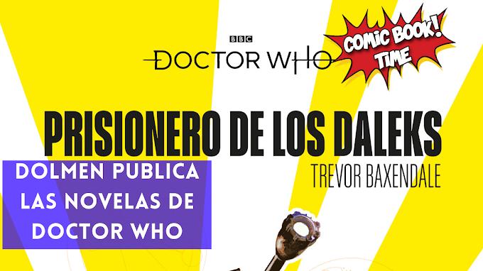 "Las canónicas novelas de ""Doctor Who"" de la BBC Books llegan a España por Dolmen Editorial"