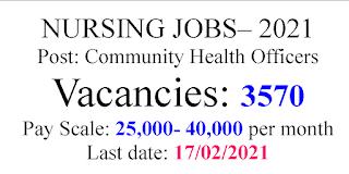 Nursing Jobs 25,000- 40,000 salary per month