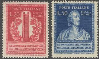 Anniversary Alessandro Volta Italy
