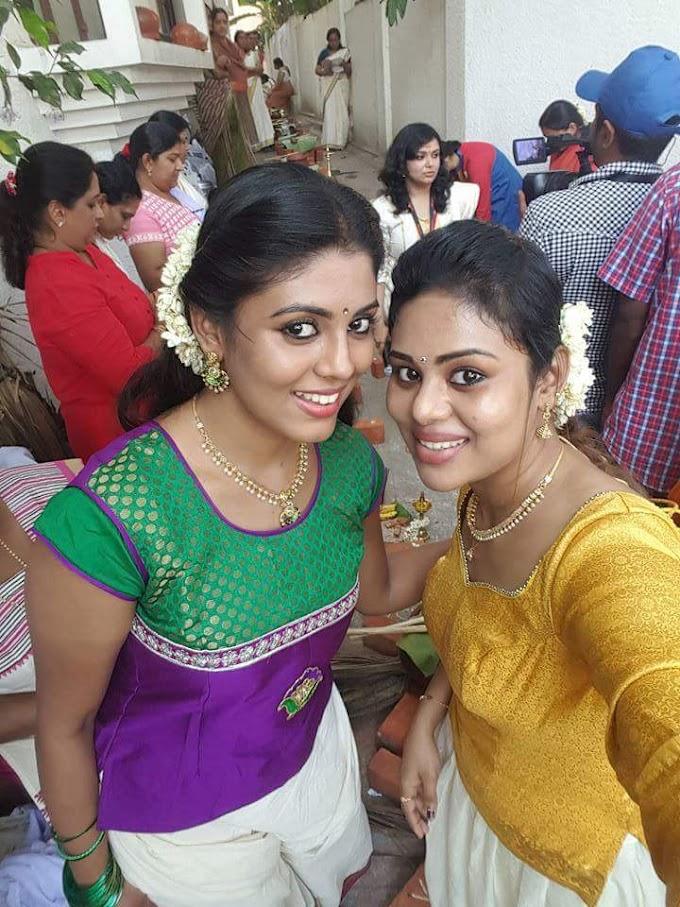 Iniya at Attukal Pongala 2016 Malayalam Actress Photos