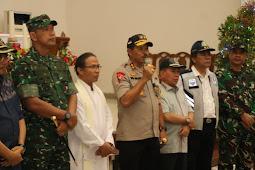 Bersama Forkopimda, Kapolda NTB Pastikan Keamanan Perayaan Natal 2019