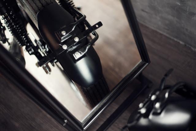 Spakbor modifikasi motor custom