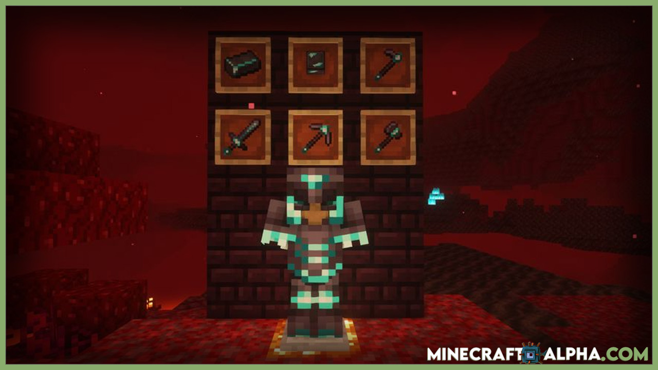 Minecraft Advanced Netherite Mod 1.17.1 (Armors, Tools)