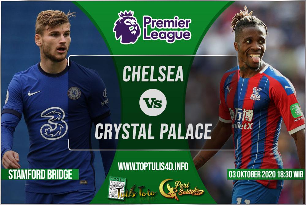 Prediksi Chelsea vs Crystal Palace 03 Oktober 2020