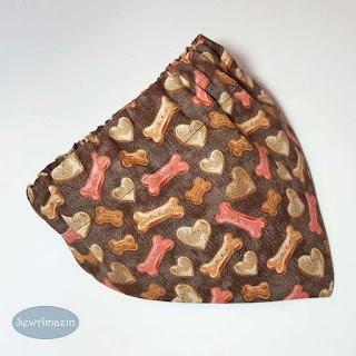 Yummy Treats and Dog Biscuits Bandana