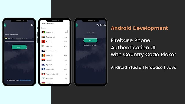 Firebase Phone number authentication in Android   Android Studio   Java