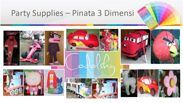 Pinata, Pinata 2D, Pinata 3D, Jual Pinata, Pinata Murah, pembuat pinata, Pengrajin pinata, Birthday Pinatas, Piñata