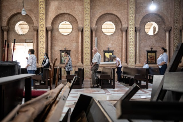 Líbano, um refúgio para o cristianismo, à beira do colapso se o mundo não agir, alertam especialistas