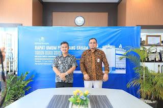 Wali Kota Tarakan Menghadiri RUPS PT BPD Kaltim Kaltara Melalui Media Video Meeting - Tarakan Info