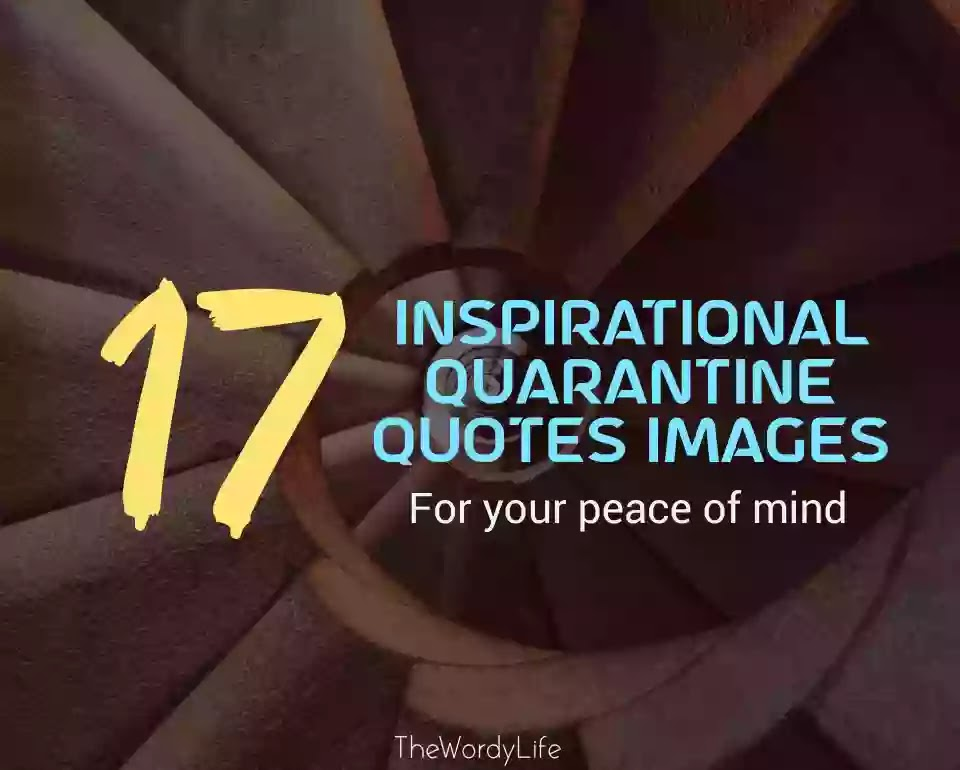 Quarantine quotes images