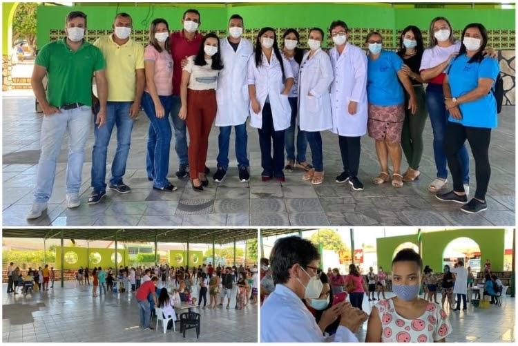 Mobilização em prol da vida e da vacina contra a Covid-19 é realizada em Ituaçu