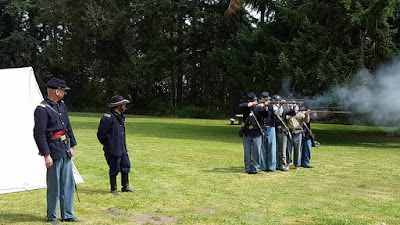 4th US Firing Demo Fort Townshend 2016 photo by J. Strand