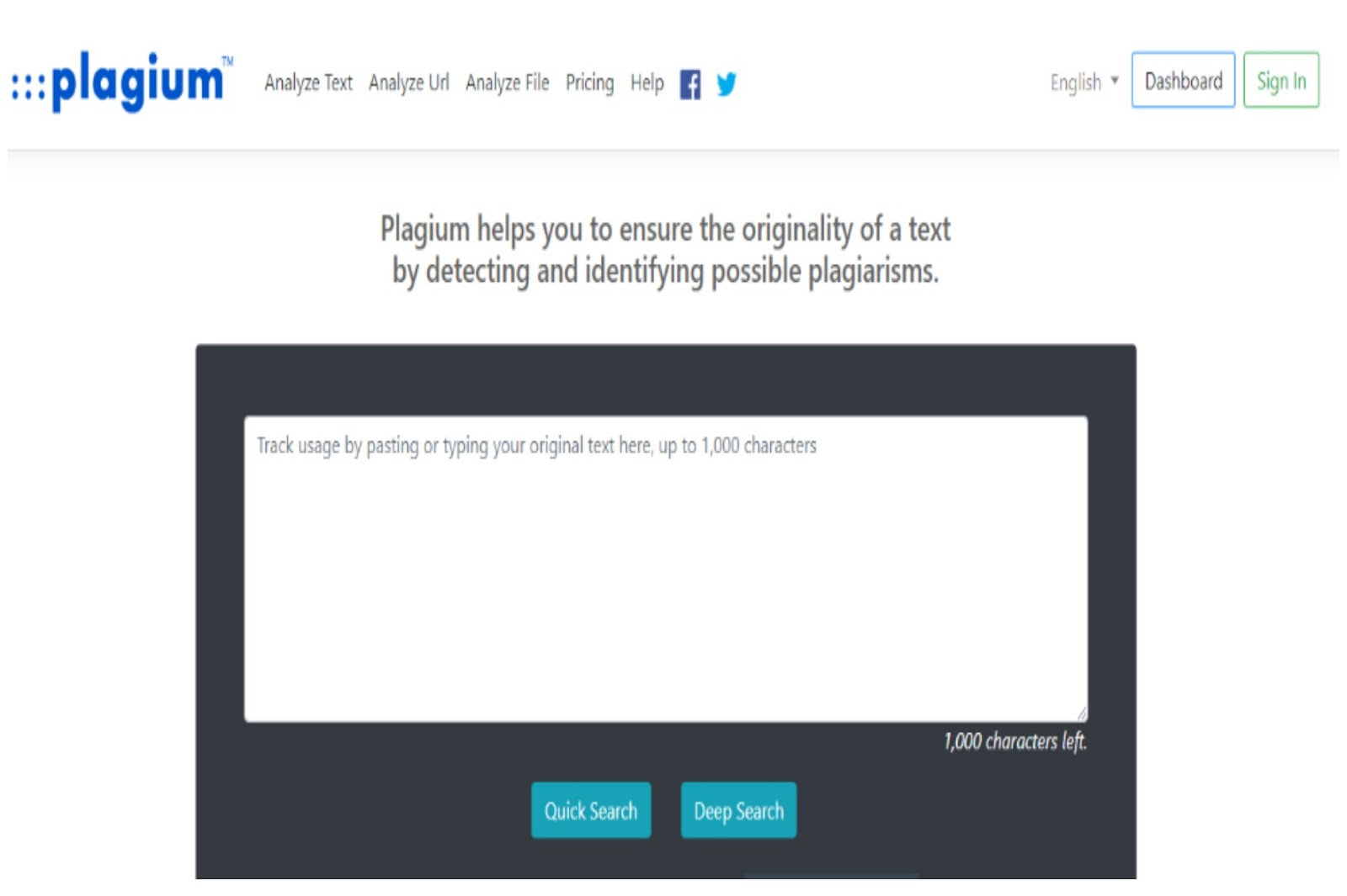 Plagium Plagiarism Checker