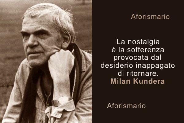Aforismario Le Frasi Più Belle E Significative Di Milan Kundera