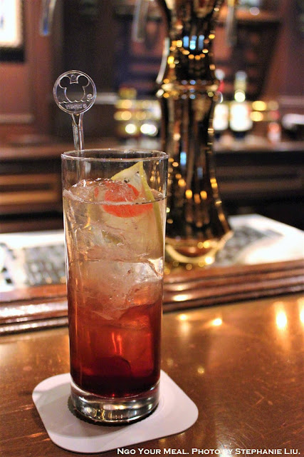 Singapore Sling at The Teddy Roosevelt Lounge in DisneySea Japan