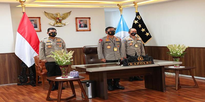 Kapolri Naikkan Pangkat 44 Ribu Lebih Personel Polri se-Indonesia