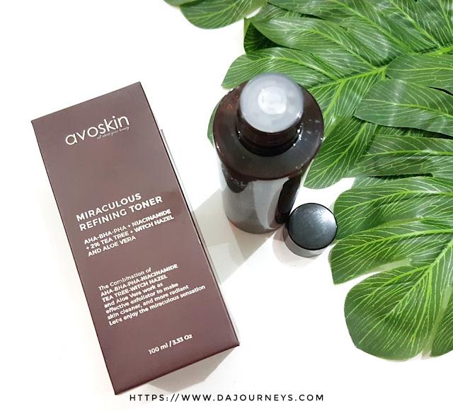 [Review] Avoskin Miraculous Refining Toner