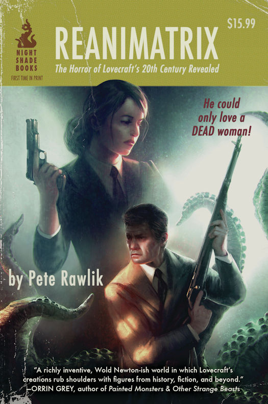 Review: Reanimatrix by Pete Rawlik