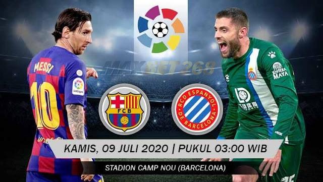 Prediksi Barcelona Vs Espanyol, Kamis 09 Juli 2020 Pukul 03.00 WIB