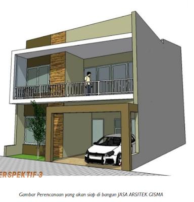 Gambar perencaan arsitektur rumah