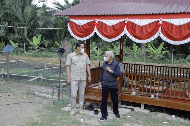 Bupati Asahan Bersilahturahmi dengan Masyarakat Desa Silau Lama